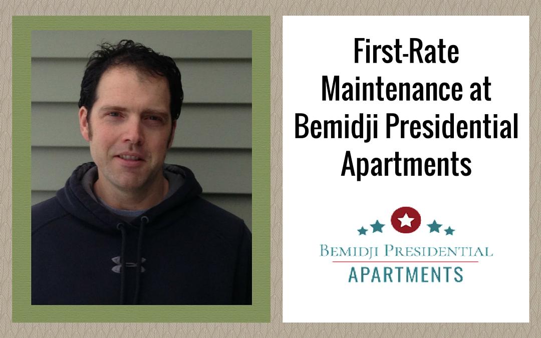 First-Rate Maintenance at Bemidji Presidential Apartments