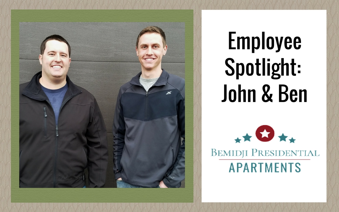 Bemidji Apartments Employee Spotlight: John and Ben Porter