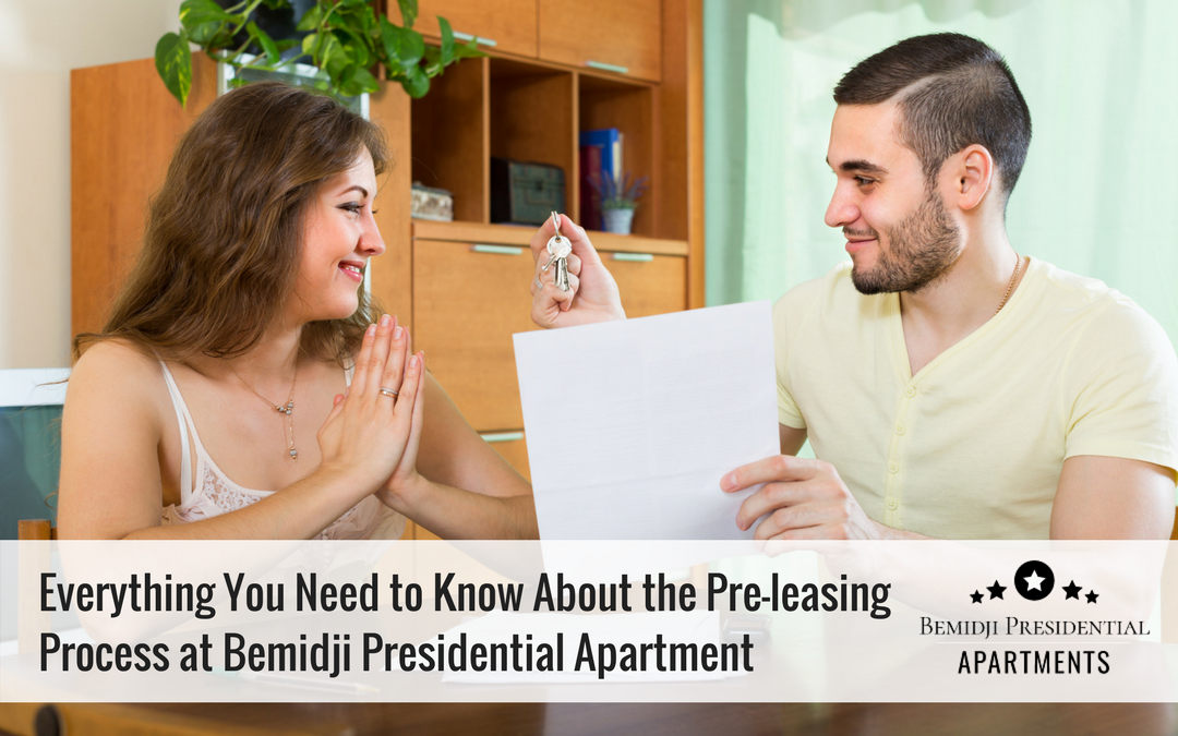 Everything You Need to Know About the Pre-leasing Process at Bemidji Presidential Apartment