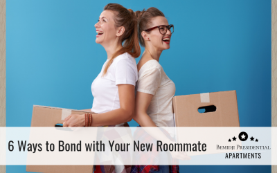 6 Ways to Bond with Your New Roommate